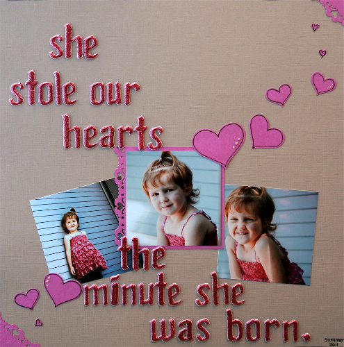 She stole our hearts-core-jo ann's