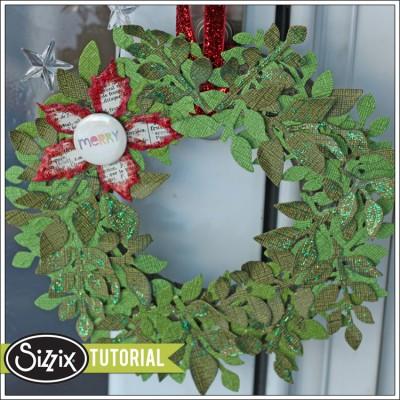Sizzix-Die-Cutting-Tutorial-Holiday-Wreath-by-Leica-Forrest-400x400