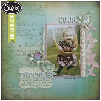 Sizzix-Inspiration-Precious-Scrapbook-Page-by-Leica-Forrest-400x400